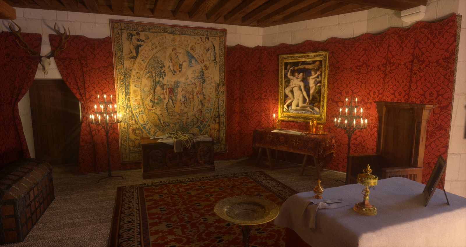 Chateau de chambord medievalworlds for Garderobe chateau